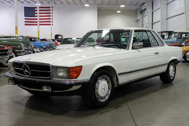 1980 mercedes benz 450 slc