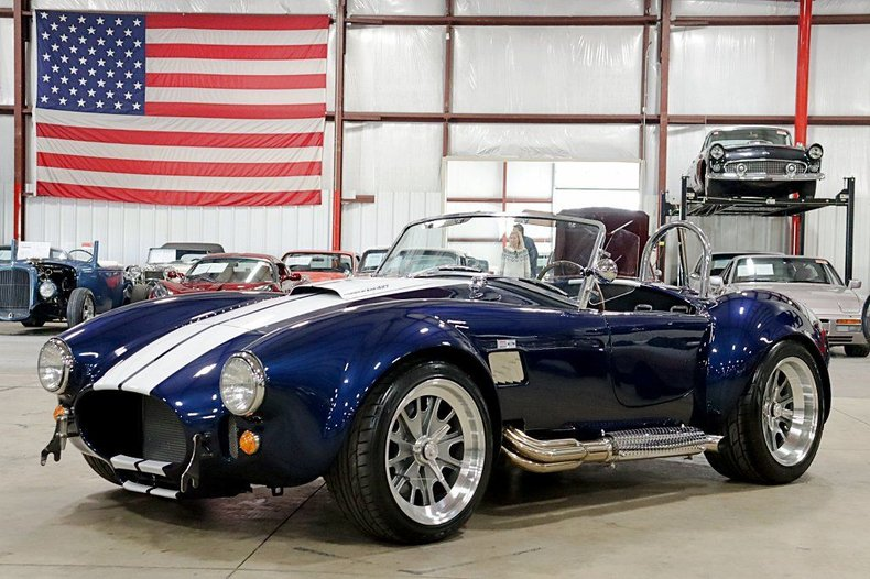1965 shelby cobra by backdraft racing