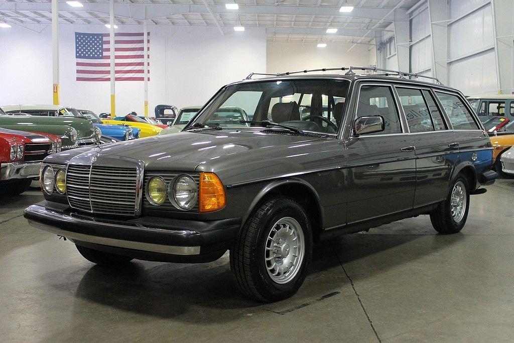 1985 mercedes benz 300td turbo diesel