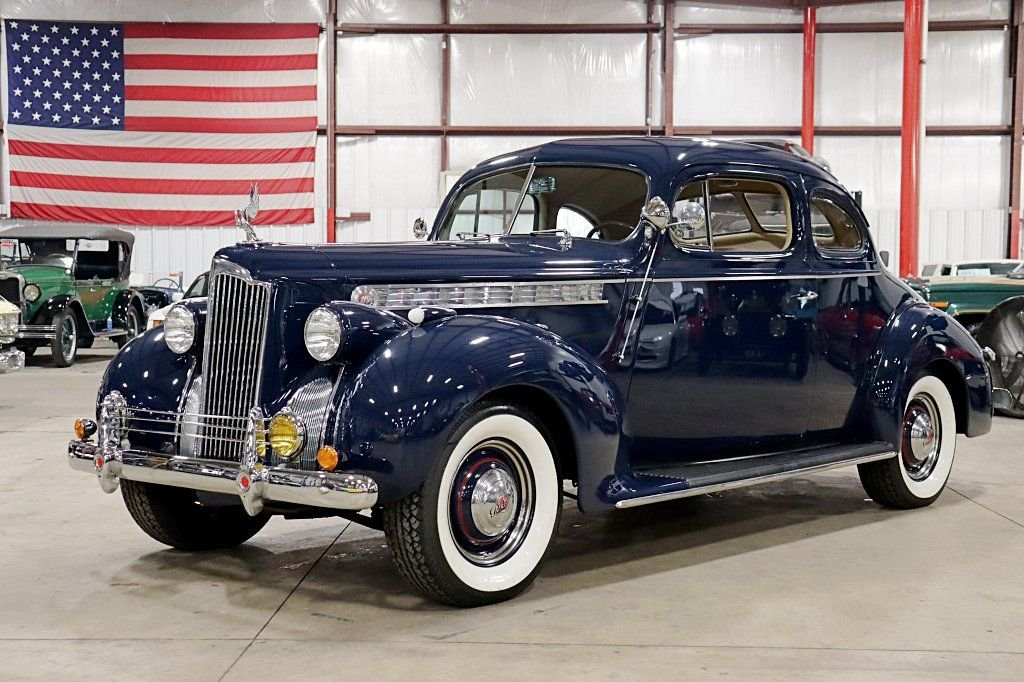 1940 packard 110 club coupe