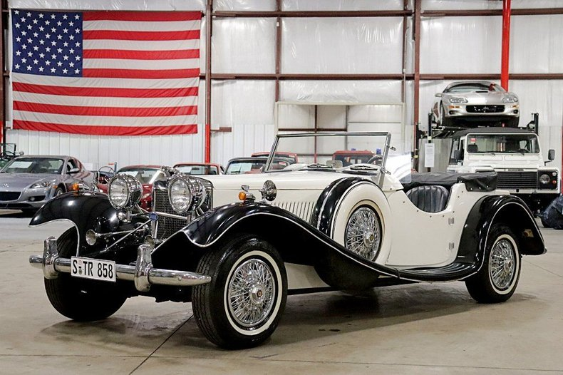 1939 jaguar ss100 replica