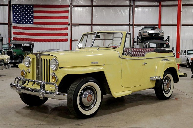 1948 willys jeepster overland phaeton