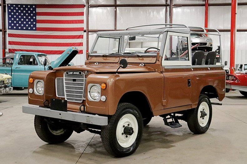 1975 Land Rover Series III For Sale