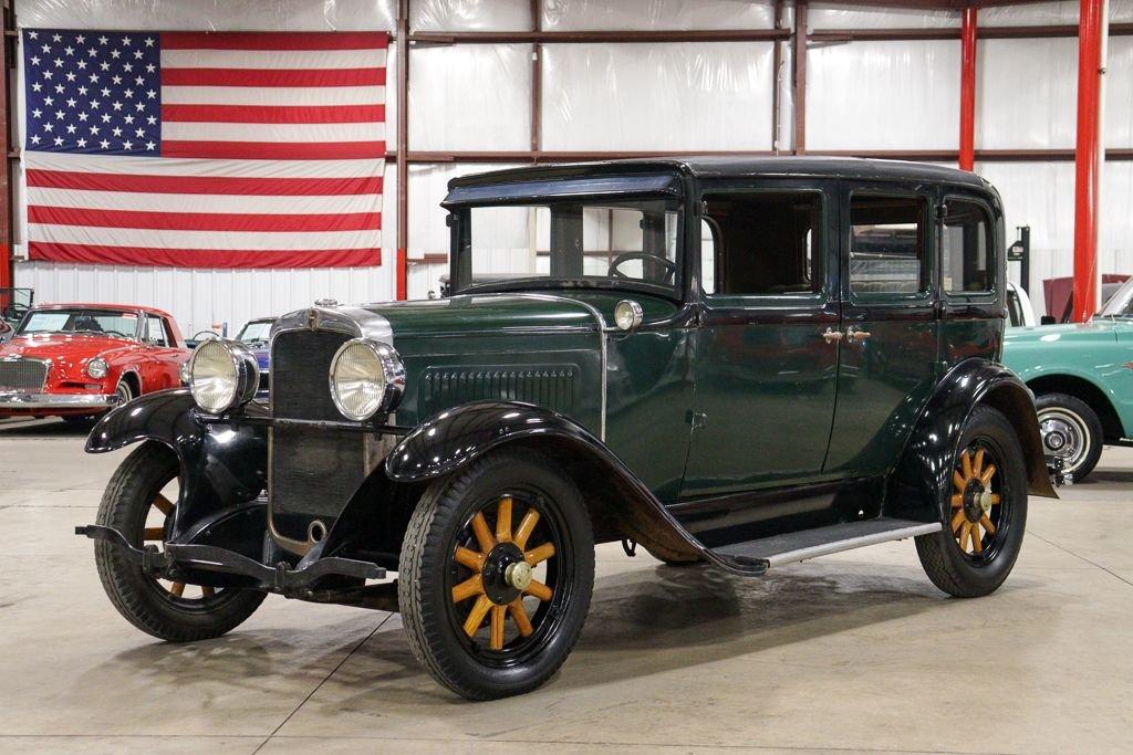 1929 nash standard six