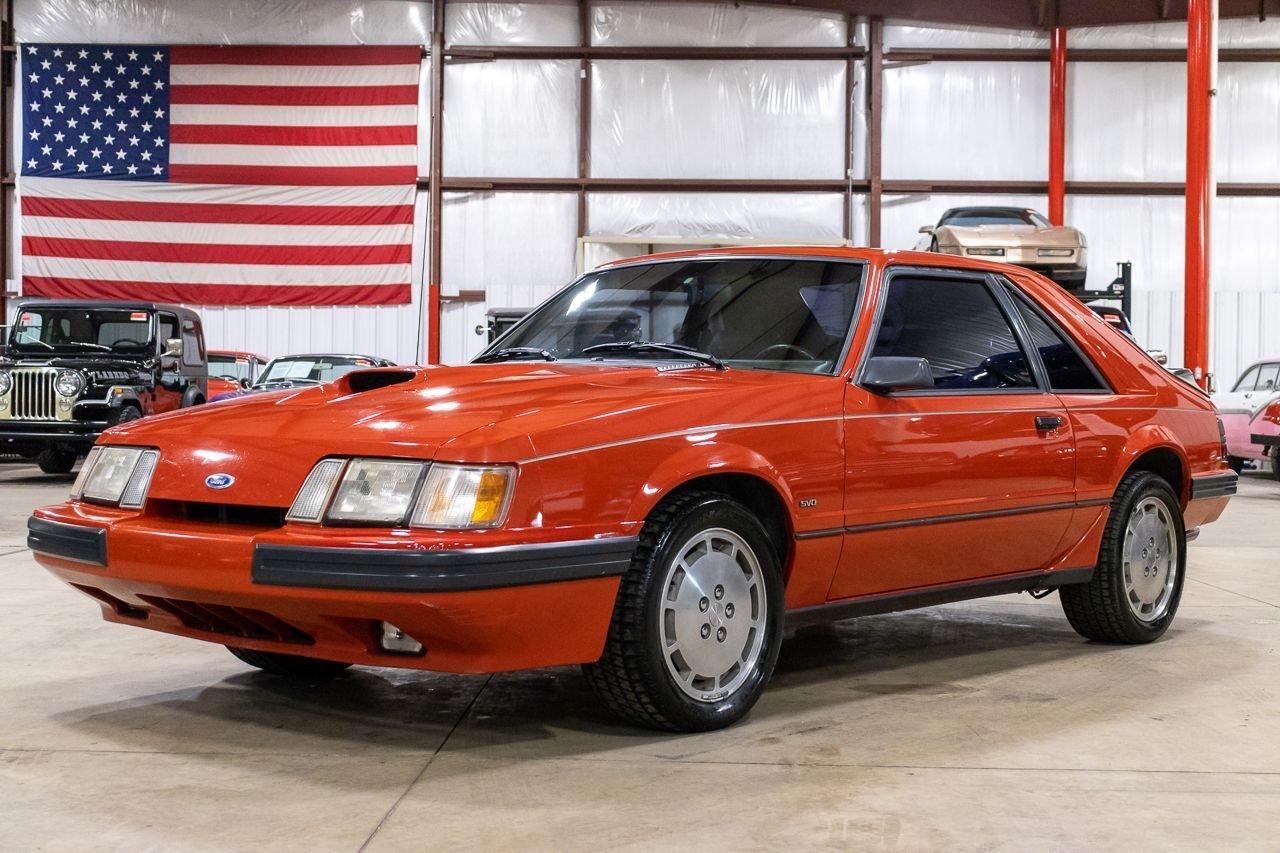 1986 ford mustang svo turbo