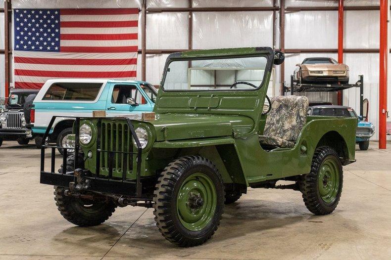 1946 willys jeep cj 2a