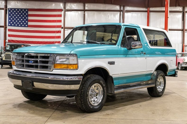 1995 ford bronco xlt