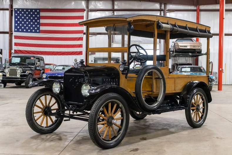 1921 ford model t canopy express