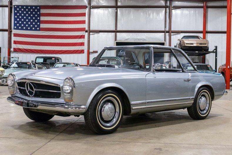 1964 mercedes benz 230sl