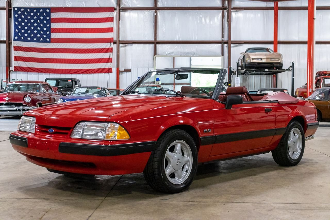 1991 ford mustang lx 5 0