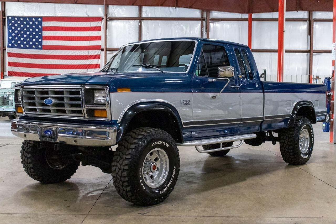 1986 ford f250 xlt