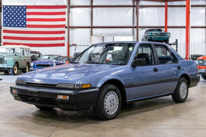 1989 honda accord dx