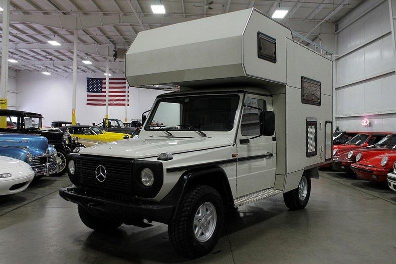 1982 mercedes benz gd300 camper
