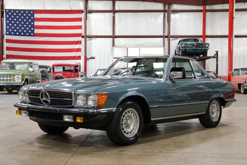 1981 mercedes benz 380sl