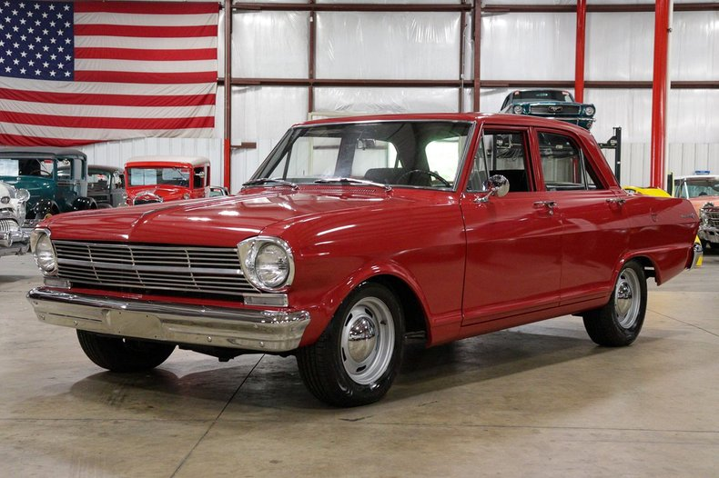 1962 chevrolet nova ii