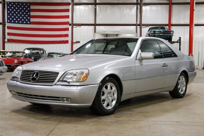 1997 mercedes benz s500 coupe