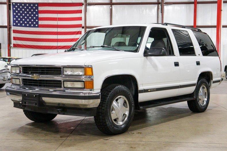 1996 chevrolet tahoe 1500 lt