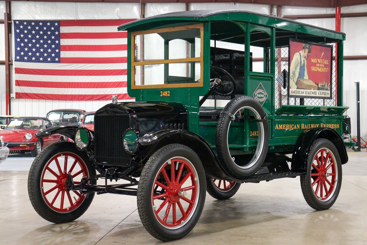 1921 ford railway express