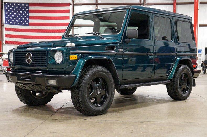 2001 mercedes benz g320