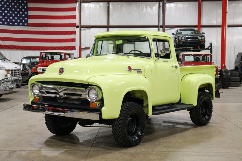 1956 ford f100 marmon herrington 4x4
