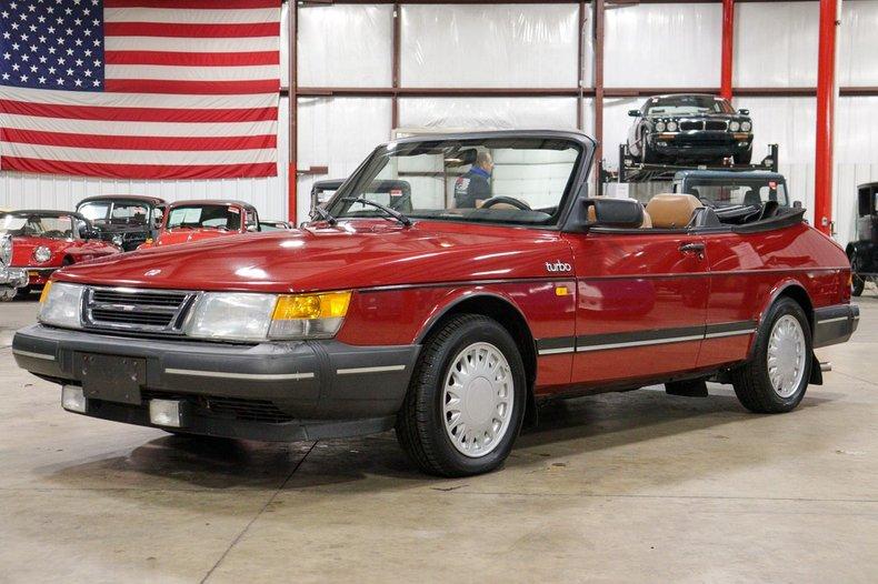 1987 saab 900 turbo cabriolet