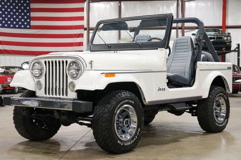 1982 jeep cj 7 limited