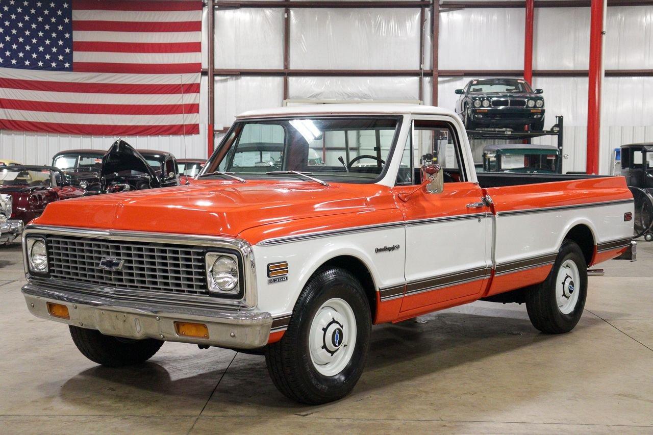 1971 chevrolet c20 custom