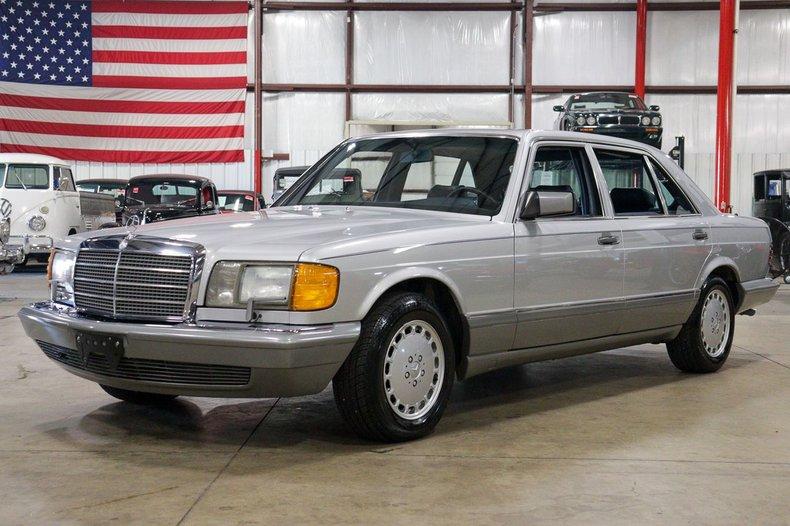 1986 mercedes benz 420sel