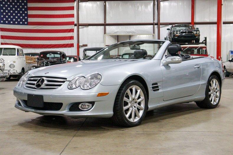 2007 mercedes benz sl 550