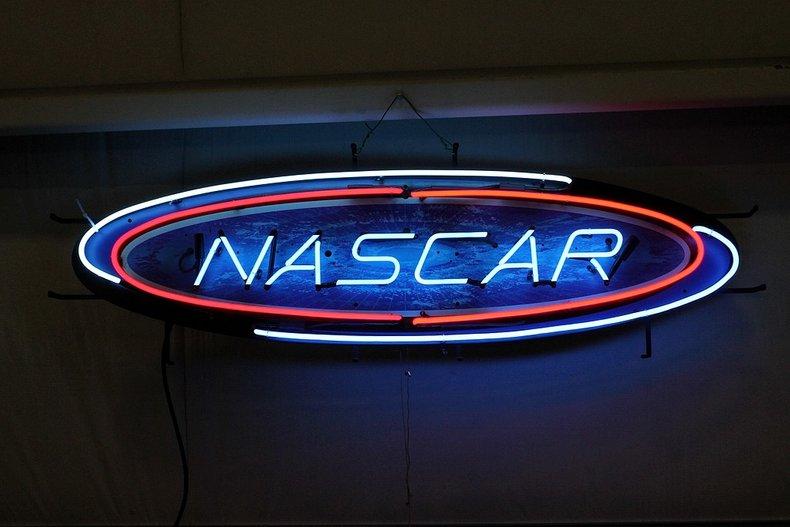 Nascar neon sign