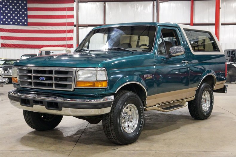 1996 ford bronco eddie bauer edition