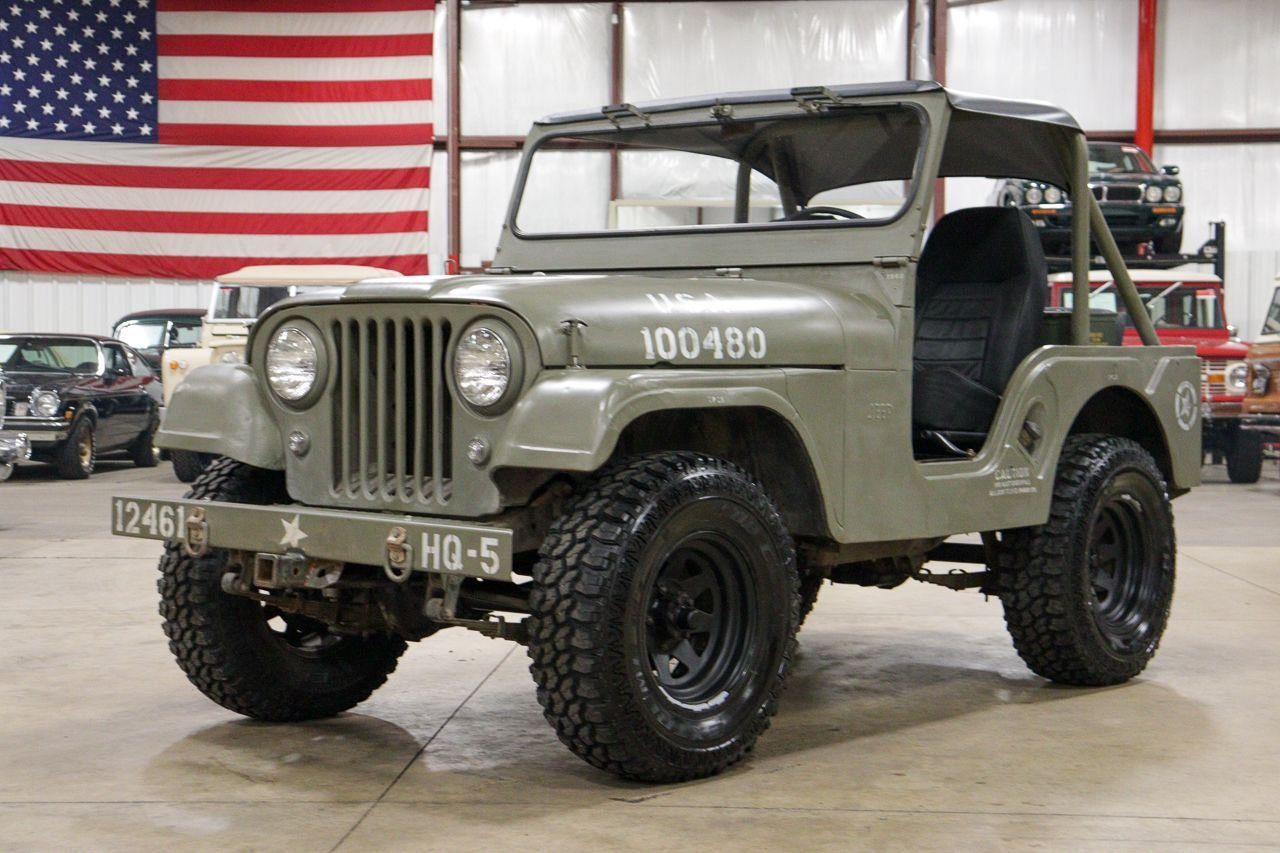 1960 willys jeep cj 5