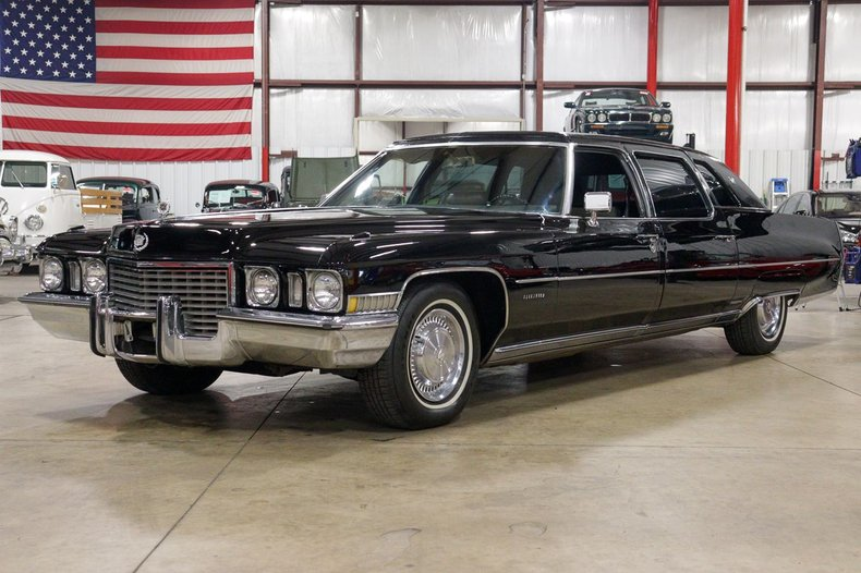 1972 cadillac fleetwood limousine