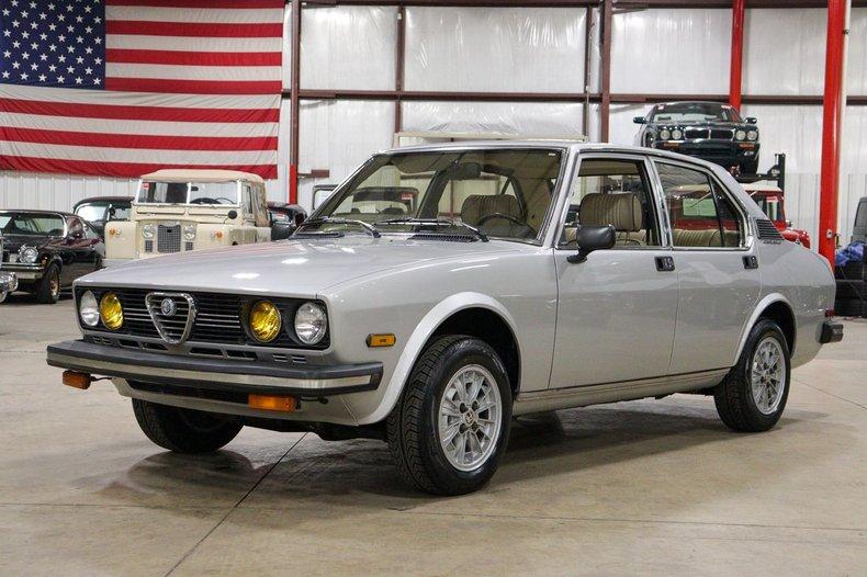 1979 alfa romeo sport sedan