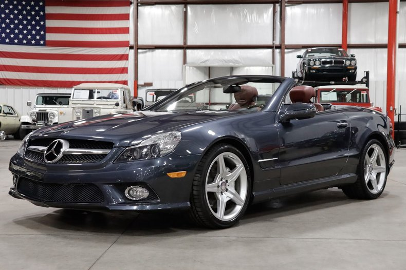 2011 mercedes benz sl 550