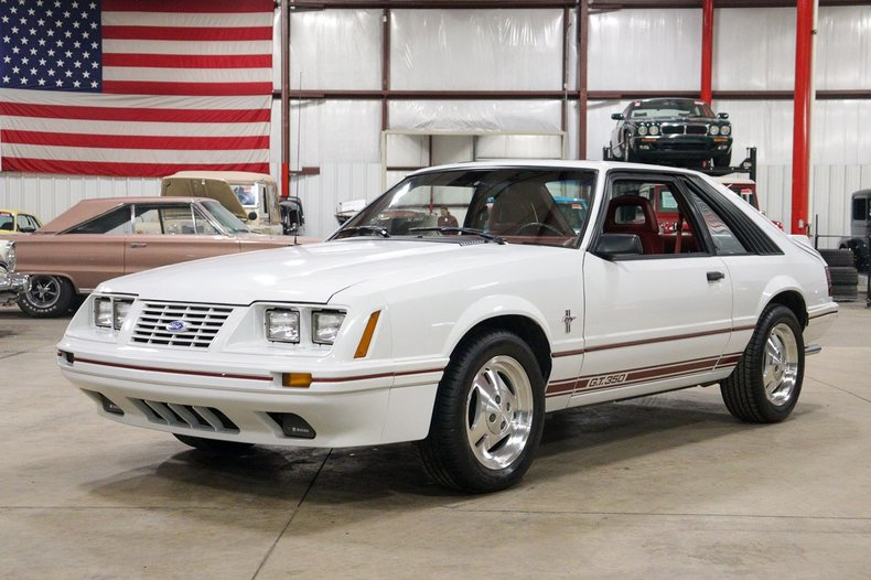 1984 ford mustang gt350 anniversary edition