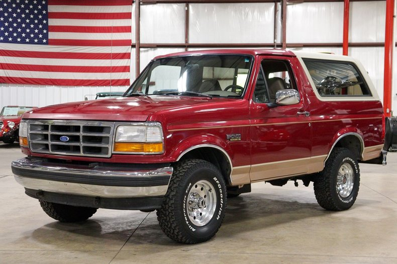 1994 ford bronco eddie bauer edition