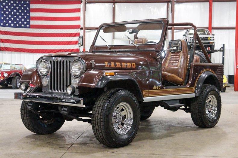 1984 jeep cj 7 laredo