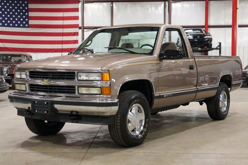 1996 chevrolet k 1500 silverado