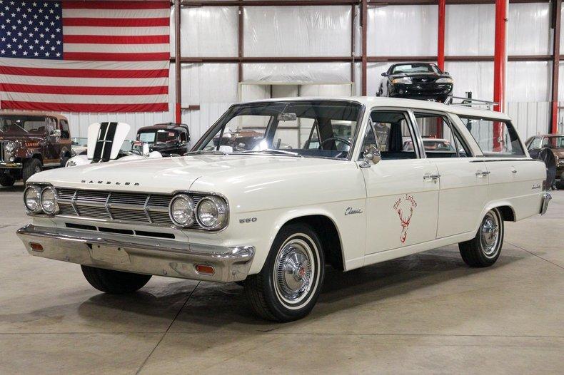 1965 amc rambler 550 cross country classic