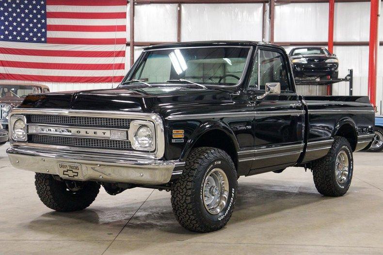 1969 chevrolet k 10 custom