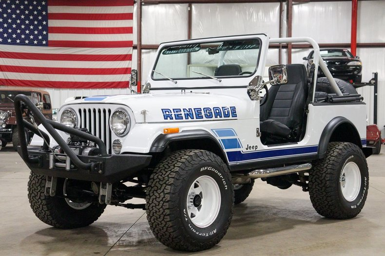1983 jeep cj 7 renegade