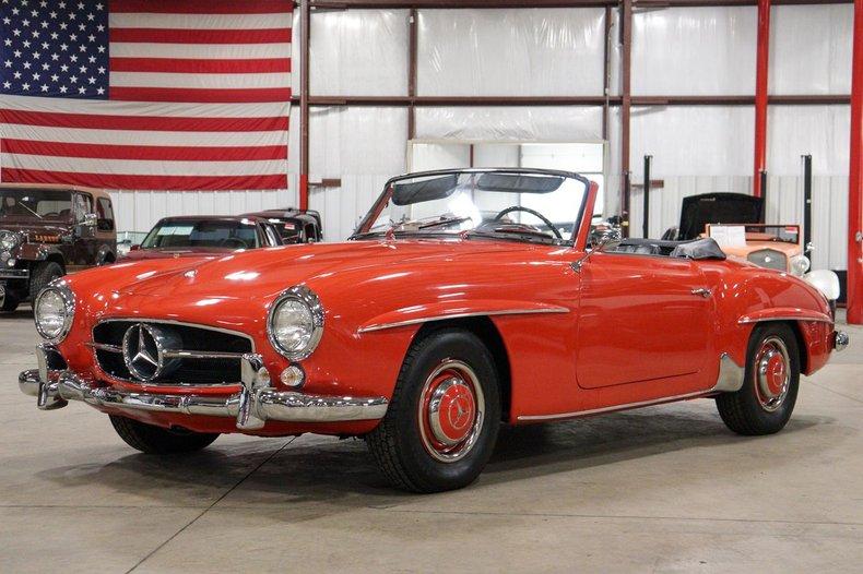 1961 mercedes benz 190sl