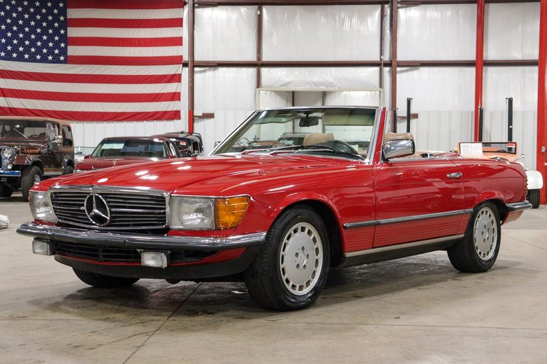 1984 mercedes benz 500sl
