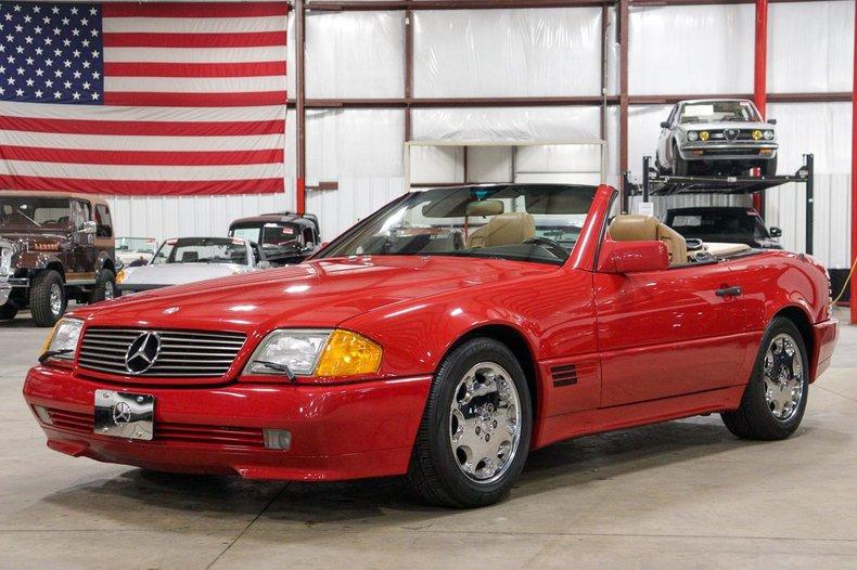 1991 mercedes benz 300sl