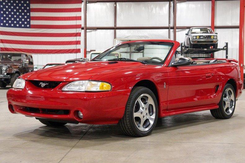 1997 ford mustang svt cobra