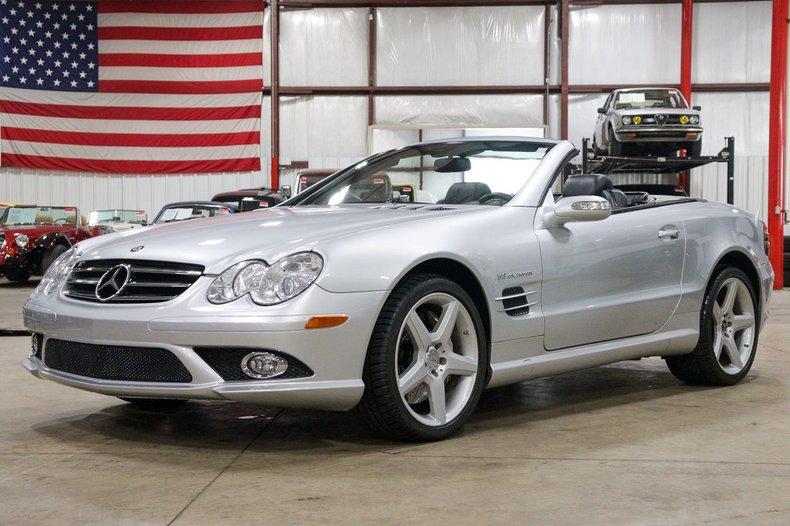 2007 mercedes benz sl55 amg