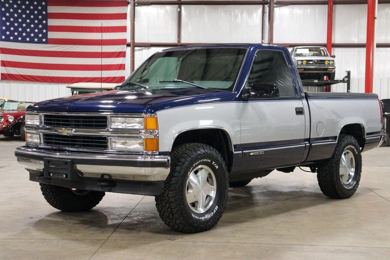 1996 chevrolet silverado k 1500