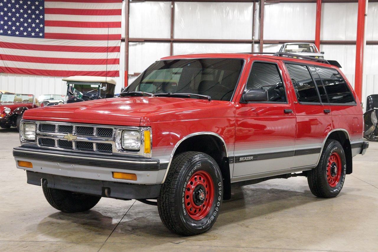 1992 chevrolet blazer s10
