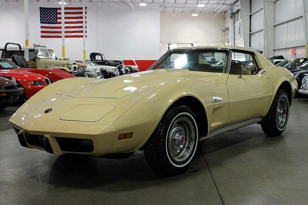 1976 chevrolet corvette lt 1